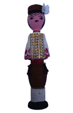 Bulgarian Wooden Doll