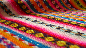 Traditional Peruvian Fabric