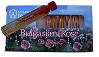 Rose Oil Essence Vial
