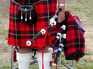 Scottish Tartan Skirt