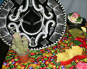 Traditional Mexican Sombrero