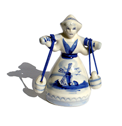 Traditional Delft Figurine