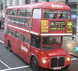 Traditional London Bus